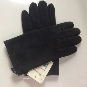 Ralph Lauren suede gloves